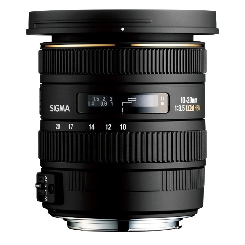 Sigma 10-20mm F3,5 DC EX HSM (D.82) - Canon EF