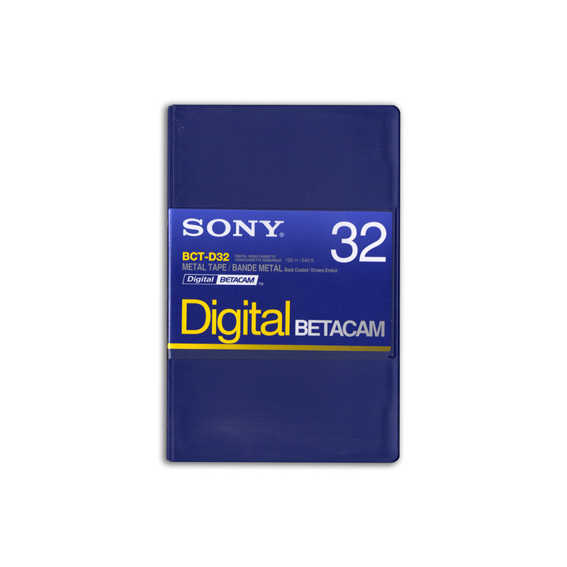 Sony Cassette Betacam Digital 32'