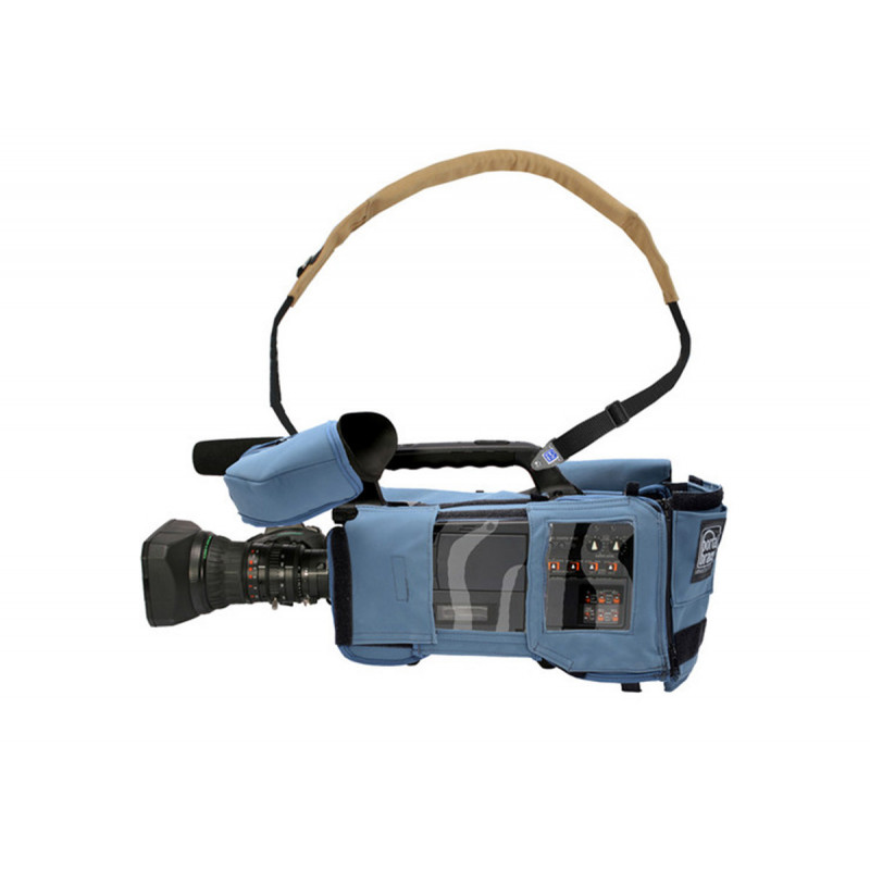 Porta Brace CBA-HPX300 Camera BodyArmor, AG-HPX300 & 301, Blue