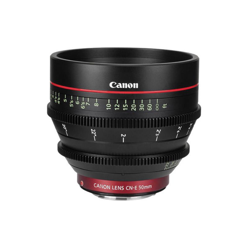 Canon Cine Prime CN-E 50mm T1.3 L F - Impérial