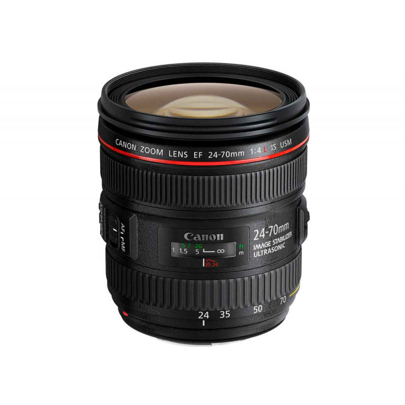 Canon Objectif EF 24-70mm F4 L IS USM