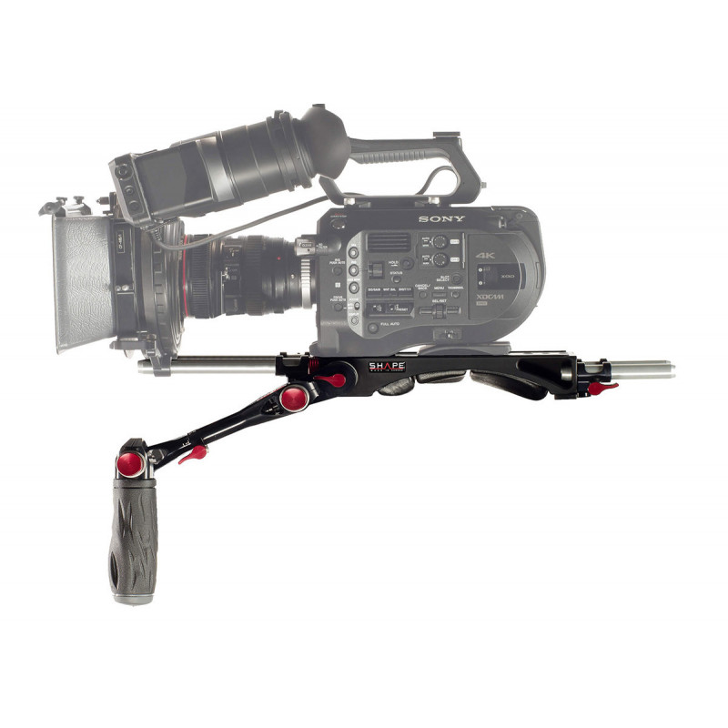 Shape Epaulière et poignée télescopique pour Sony FS7 et FS7M2